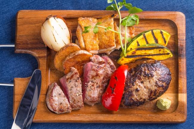 様々な種類のお肉をチョイスできる「ゴッチーズボード」がおすすめ!