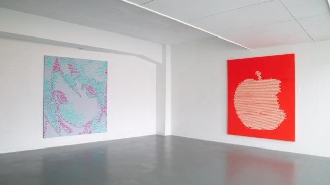 b5c2557cde 人間と機械の融合、アーティスト山口真人が機械と共作した個展「Digital ...