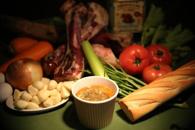 バルペピート(スペイン料理)の「ソパ・デ・アホ」