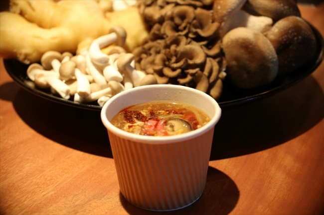 焼肉KINTANの和牛酸辣湯