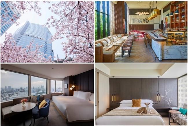写真左上下:ストリングスホテル東京インターコンチネンタル、写真右上下:キンプトン新宿東京