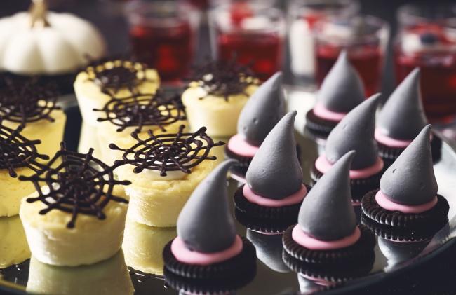 バスクチーズケーキ、魔女の帽子