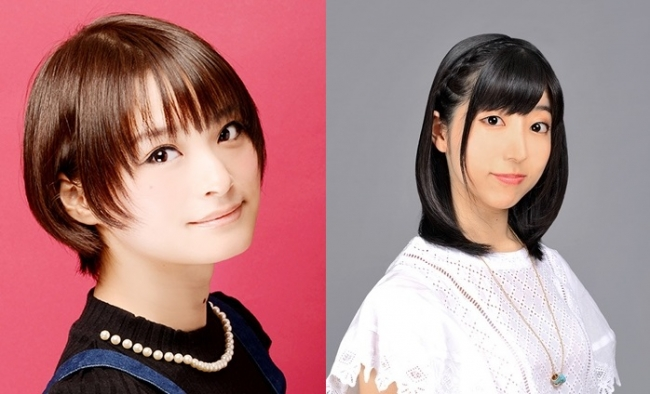 (左から)井澤詩織さん(ヘボット役)、田村奈央さん(ネジル役)