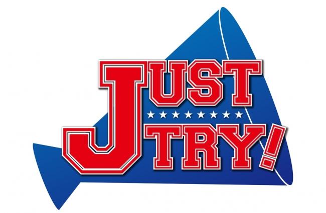 「JUST TRY! ~Bリーグチアオーディション2017~」ロゴ