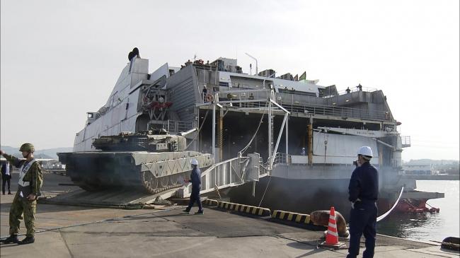 『メ~テレドキュメント 防衛フェリー ~民間船と戦争~』より