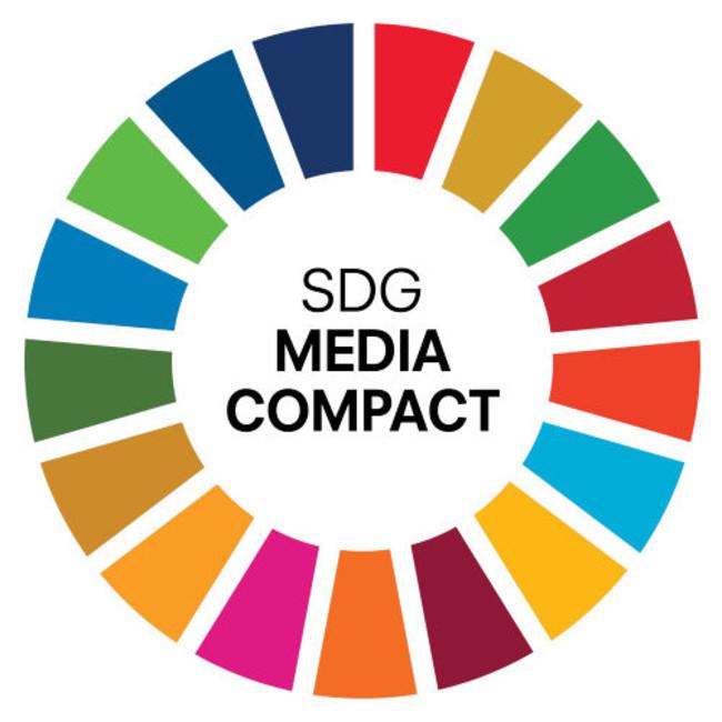 「SDGメディアコンパクト」ロゴ