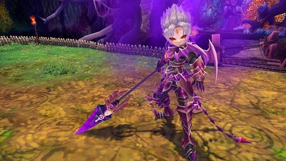 ▼怪しげなオーラをまとう謎の暗黒騎士