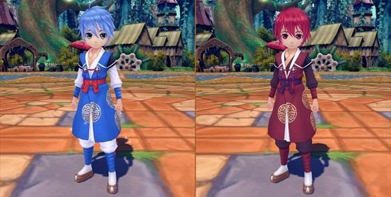 ▼左「レイススタイル(橙品質)」、  右「レイススタイル(青品質)」