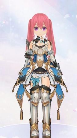 光翼の鎧(女性装備)
