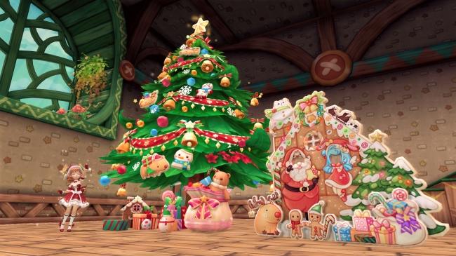 秘密基地を彩るクリスマス家具を手に入れよう!