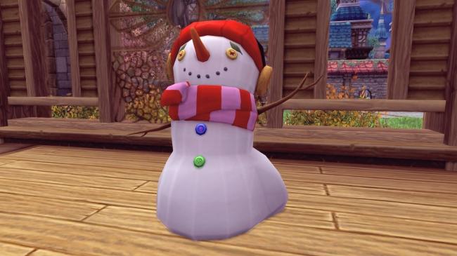 限定家具「クリスマス特製雪だるま」