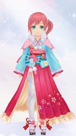 花の舞姫(女性装備)