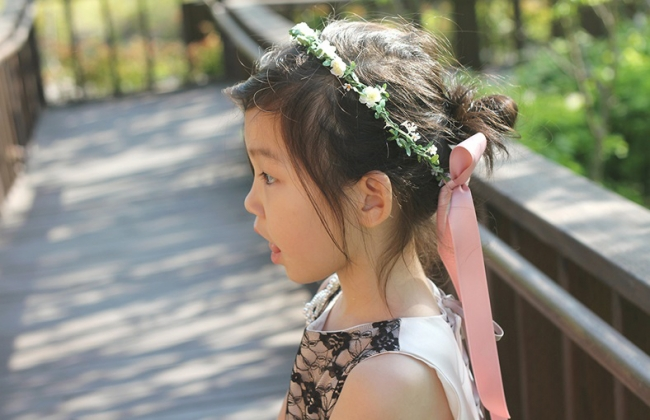 デザイナーズ子供ドレス【DRESCCO(ドレスコ)】が花冠の新作を