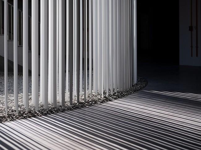 空間デザイン作品例 Shadow In Motion, 2019, Tainan, Taiwan, Collaborator Kenya Hara, Photo Kyle Yu
