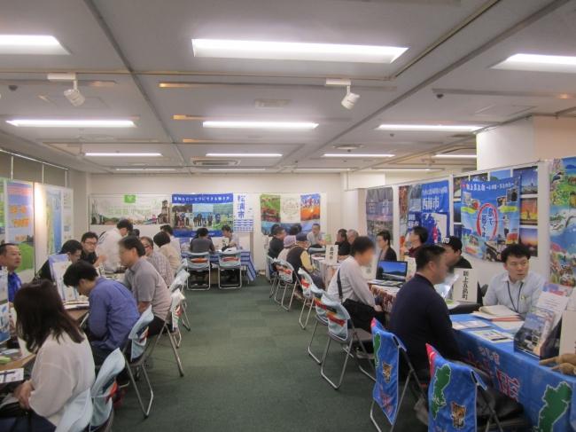 昨年開催した長崎県移住相談会の様子