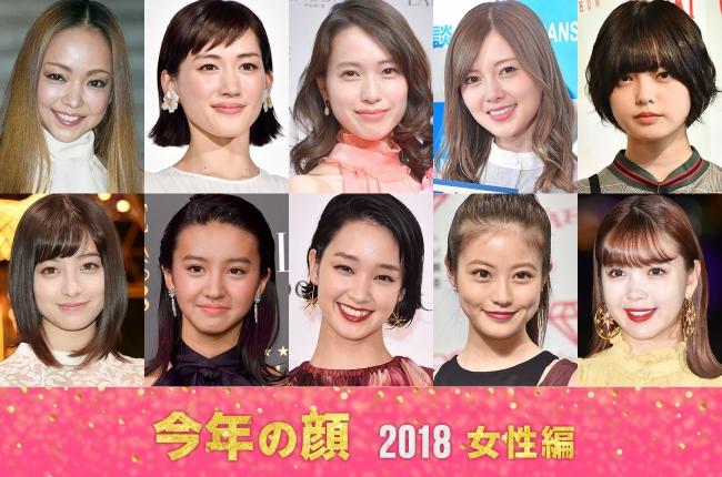 2018 年 来年 の 顔