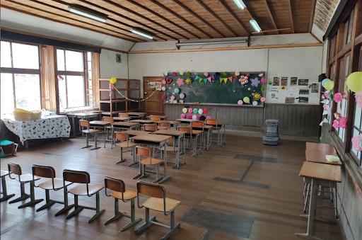 築約100年の木造校舎の廃校 (奈良県宇陀市)