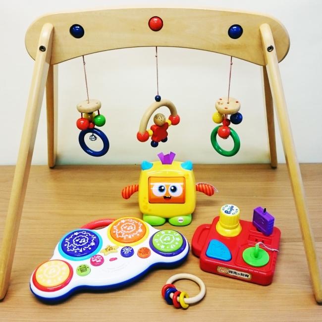 0歳向け人気トップ5のおもちゃ