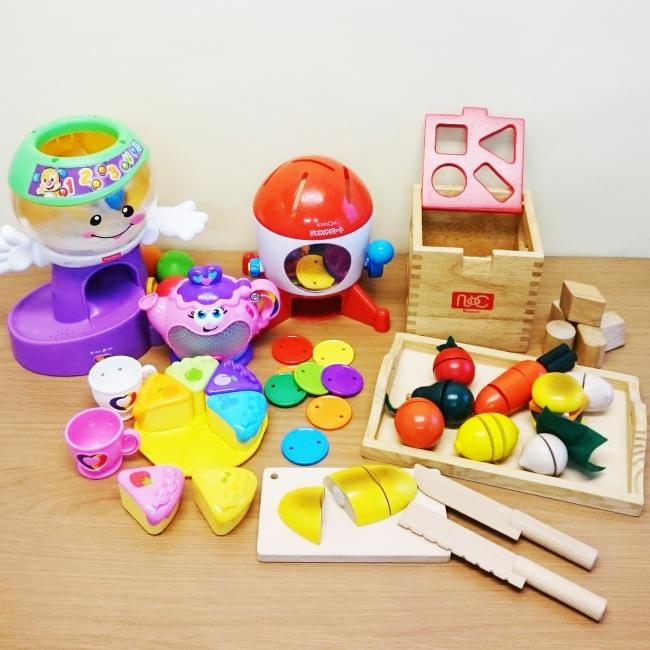 1歳向け人気トップ5のおもちゃ