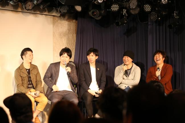 Akira Sunset + Carlos K. + 丸谷マナブ + Soulife
