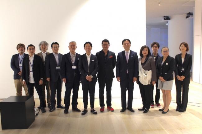 山口佐賀県知事、奥山プロデューサー、佐藤可士和氏らも参加した内覧会&レセプション