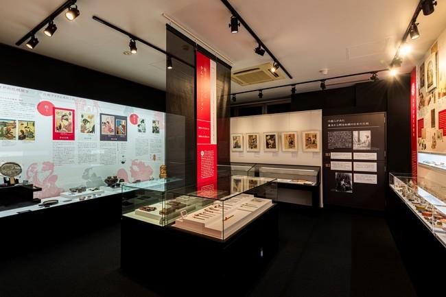 紅ミュージアム常設展示室2 「化粧」の歩み