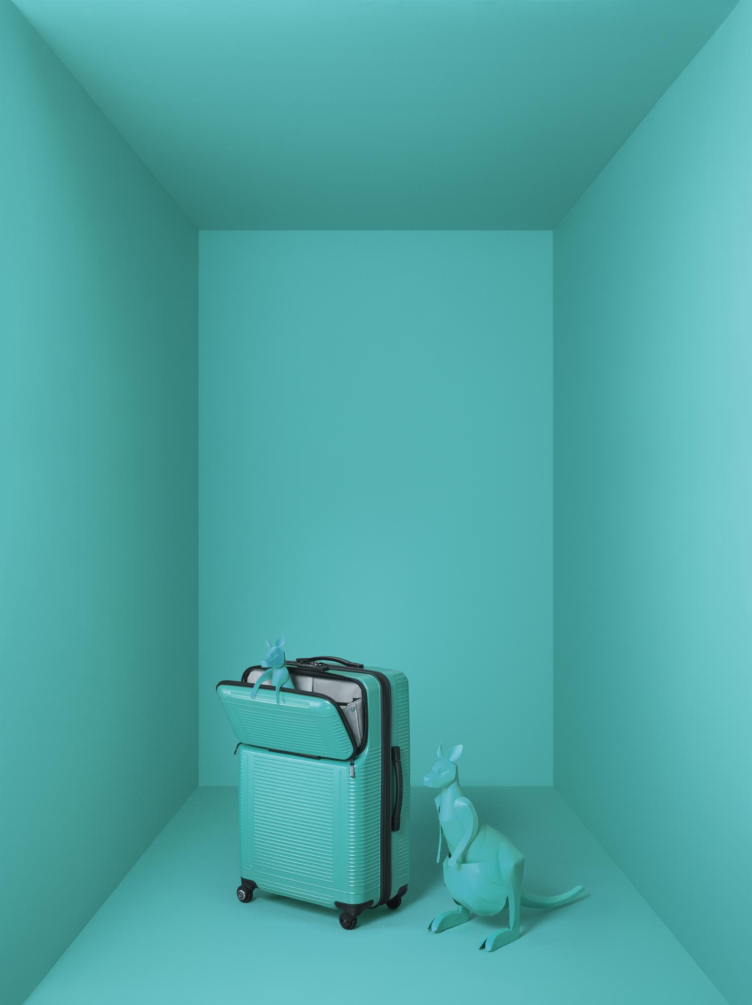 8d9859c7ef プロテカ、移動時に荷物の出し入れがしやすいスーツケース 新色ピーコックブルー発売|エース株式会社のプレスリリース