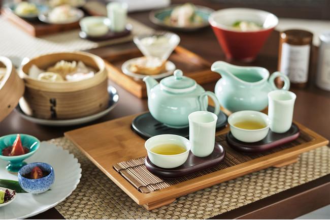 琉球新天地「琉球飲茶&台湾ティー」セットメニューイメージ