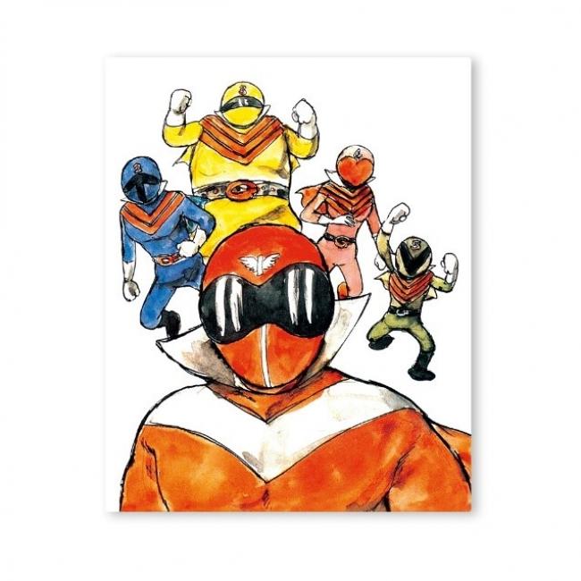 石ノ森章太郎 『秘密戦隊ゴレンジャー』  F3キャラファインボード 1,890円(税込)