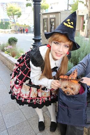ワンちゃんと一緒にハロウィンを楽しもう♪