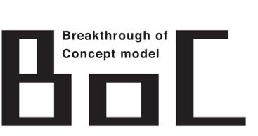 新サービス「BoC」ロゴ