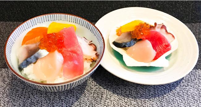 青森県産鮮魚の「のっけ丼」がブッフェに登場。 ※写真はイメージです。