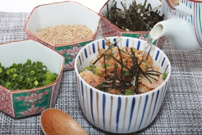 セカンドステージ出品料理「むつ湾帆立の炊き込みご飯 焼き干し出汁」