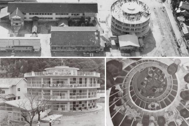 現存する日本最古の円形校舎:旧明倫小学校