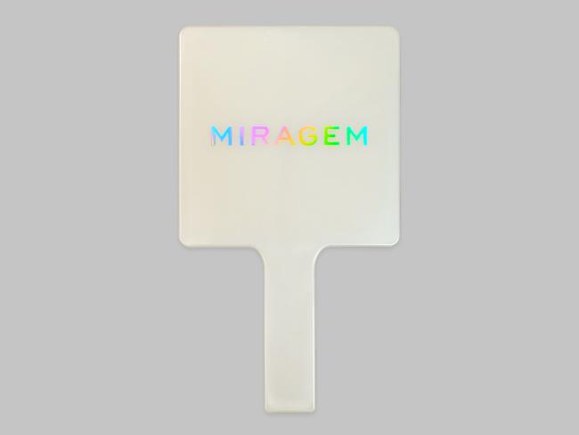 Miragem Pearl Hand Mirror SQ
