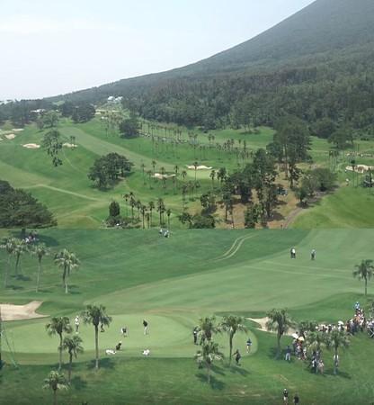 日本テレビ放送網株式会社「第87回日本プロゴルフ選手権大会」 AEROBO onAirによる生中継映像より抜粋