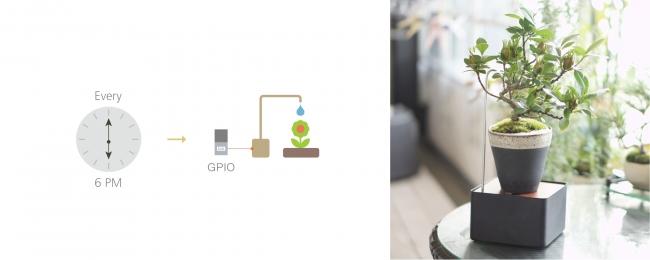 USB給電で動作するポンプを使って、お手軽自動水やり機を作成