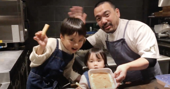 楽しく、お子さまと一緒に混ぜ混ぜ!京都:木津川 ristorante nakamotoの仲本シェフに、定番のデザート、【ティラミス】をご紹介いただきます!