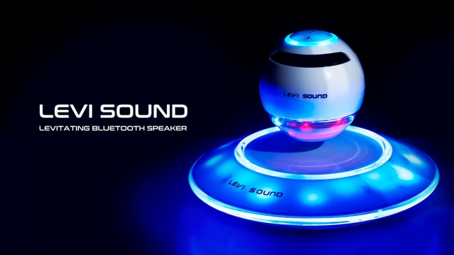 LEVI SOUND - Levitating Bluetooth Speaker