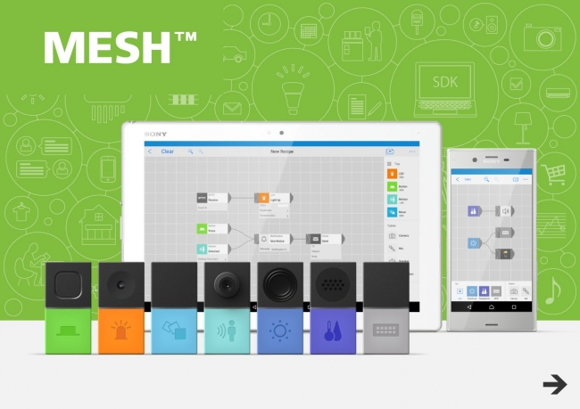 MESH:An Instant IoT Toolkit