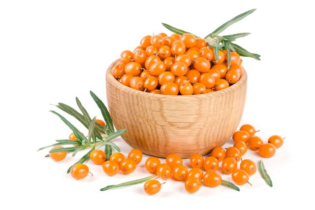 ヒポファエラムノイデス果実油(一般名称:サジー果実油)。人の皮脂に含まれるパルミトレイン酸を含有。