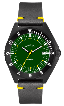 Mayfair DateMAY-D-BLK-GRN-1