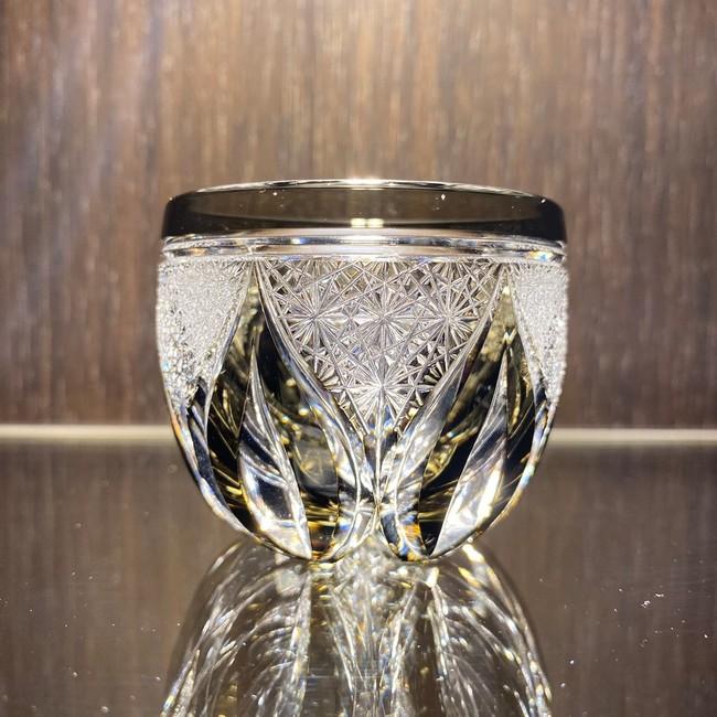 SAKE GLASS 雫-LUXURY 薄墨 60,500円(税込)