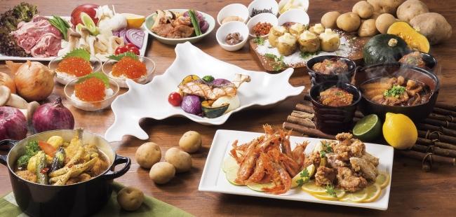 レストラン「グランサンク」『北海道フェア』イメージ