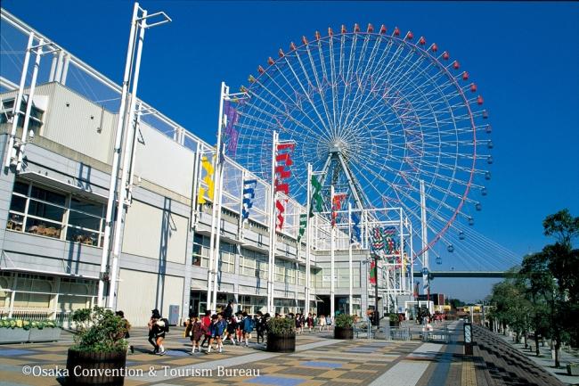 人気観光スポットのひとつ「大阪ベイエリア」Popular Sightseeing Spot Osaka Bay Area