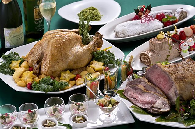 グリーンクリスマスファミリーディナーブッフェ