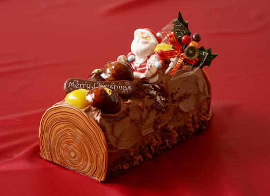 チョコとピスタチオのノエル
