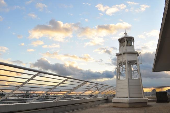 日本で唯一ホテルに建つ公式灯台