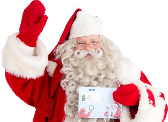 サンタクロースへお手紙