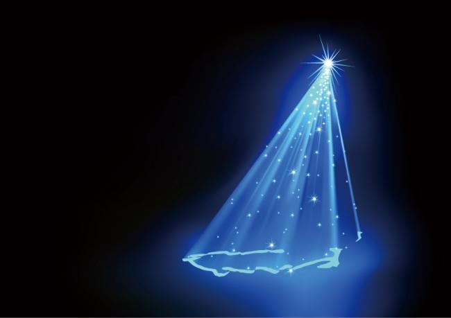 レーザークリスマスツリー イメージ